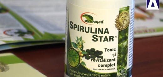 Strategia meda de sanatate - Spirulina Star, de la Ayurmed