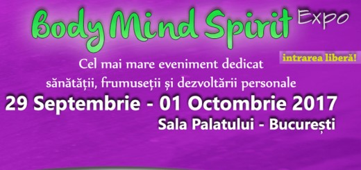 Body Mind Spirit EXPO la Sala Palatului, Bucuresti