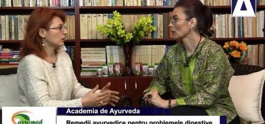 ACC - AA - Remedii ayurvedice pentru problemele digestive - Ayurmed - Realizator Cecilia Caragea