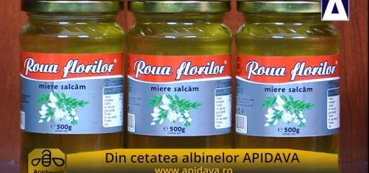 ACC - CA - Mierea de salcam Roua Florilor de la Apidava - Realizator Cecilia Caragea