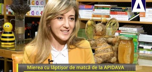 ACC - IA - Mierea cu laptisor de matca de la APIDAVA - Realizator Cecilia Caragea