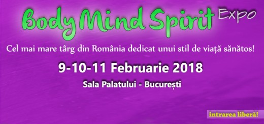 Body Mind Spirit Expo, februarie 2018
