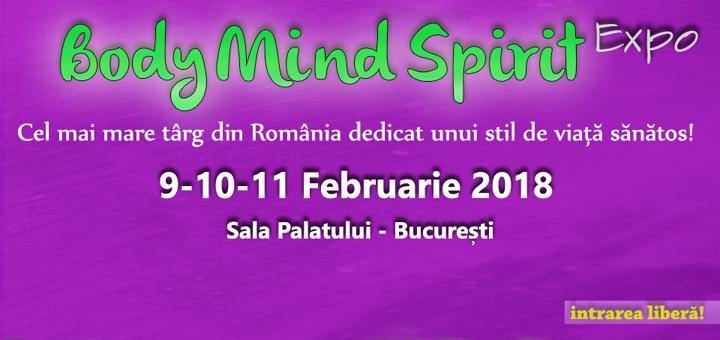 Body Mind Spirit Expo, februarie 2018