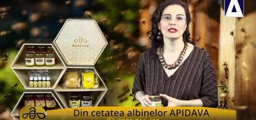 ACC - CA - Mierea cu laptisor de matca de la Apidava - Realizator Cecilia Caragea