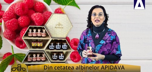 ACC - CA - Mierea de zmeura Roua Florilor de la Apidava - Realizator Cecilia Caragea
