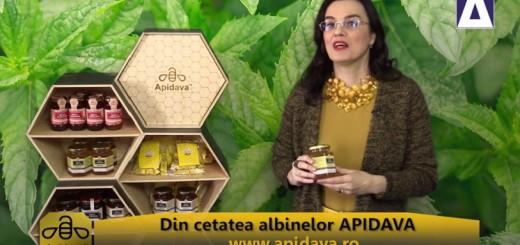 ACC - CA - Mierea de menta de la Apidava - Realizator Cecilia Caragea