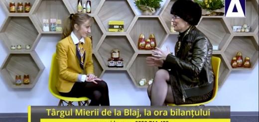 ACC - IA - Targul Mierii de la Blaj, la ora bilantului - Apidava - Realizator Cecilia Caragea