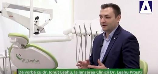 In Arena - De vorba cu dr. Ionut Leahu, la lansarea Clincii Dr. Leahu Pitesti