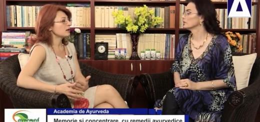 ACC - AA - Memorie si concentrare, cu remedii ayurvedice - Ayurmed - Realizator Cecilia Caragea