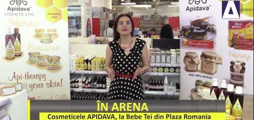 ACC - IA - Cosmeticele APIDAVA, la Bebe Tei din Plaza Romania - Apidava - Realizator Cecilia Caragea