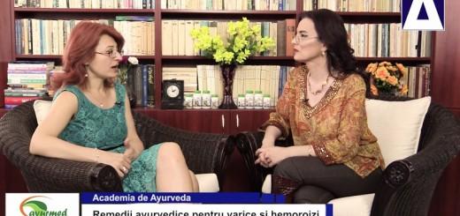 ACC - AA - Remedii ayurvedice pentru varice si hemoroizi - Ayurmed - Realizator Cecilia Caragea