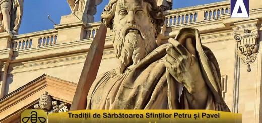 ACC - CA - Traditii de Sarbatoarea Sfintilor Petru si Pavel - Apidava - Realizator Cecilia Caragea