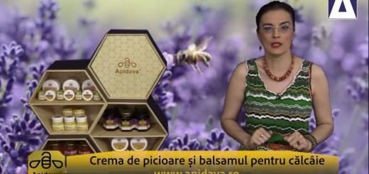 ACC - CA - Crema de picioare si balsamul pentru calcaie Apidava - Realizator Cecilia Caragea