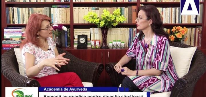 ACC - AA - Remedii ayurvedice pentru digestie sanatoasa - Ayurmed - Realizator Cecilia Caragea