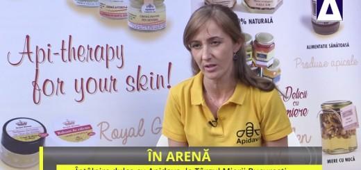 ACC - IA - Intalnire dulce cu Apidava, la Targul Mierii Bucuresti - Realizator Cecilia Caragea