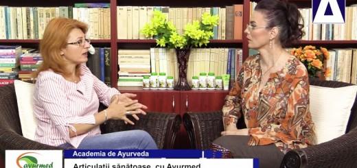 ACC - AA - Articulatii sanatoase, cu Ayurmed - Realizator Cecilia Caragea