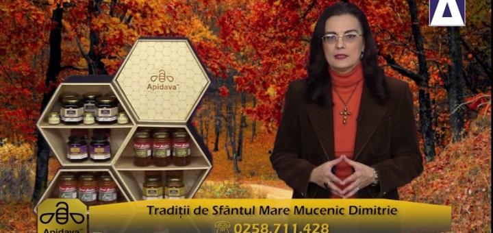 ACC - CA - Traditii de Sfantul Mare Mucenic Dimitrie - Apidava - Realizator Cecilia Caragea