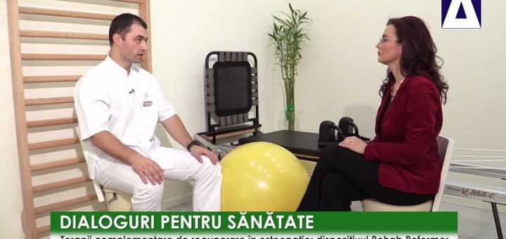 DPS - Terapii complementare de recuperare in osteopatie - Clinica Eliade - Realizator Cecilia Caragea