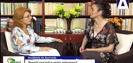 ACC - AA - Remedii ayurvedice pentru osteoporoza - Ayurmed - Realizator Cecilia Caragea