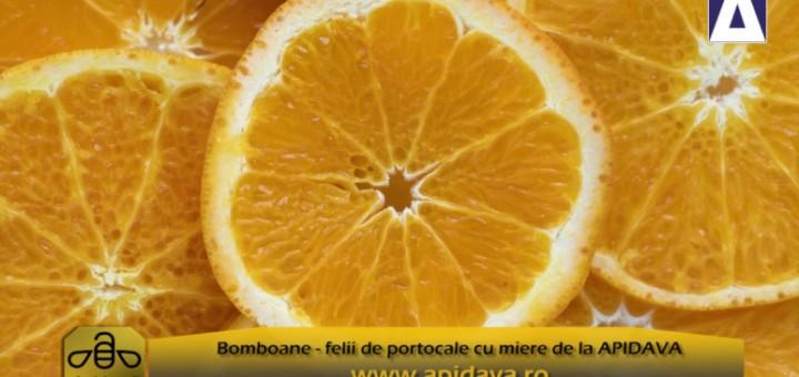 ACC - CA - Bomboane felii de portocale cu miere - Apidava - Realizator Cecilia Caragea