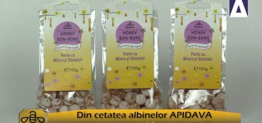 ACC - CA - Bomboanele cu miere si ghimbir de la Apidava - Realizator Cecilia Caragea