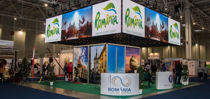 La Targul de Turism al Romaniei