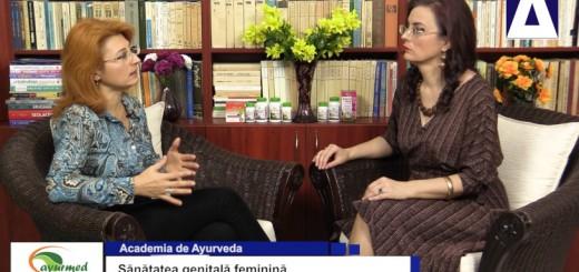 ACC - AA - Sanatatea genitala feminina - Ayurmed - Realizator Cecilia Caragea
