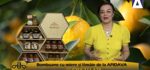 ACC - CA - Bomboane cu miere si lamaie de la Apidava - Realizator Cecilia Caragea