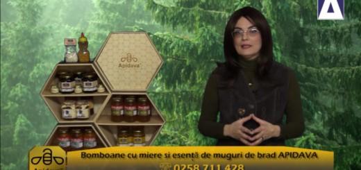 ACC - CA - Bomboanele cu miere si esenta de muguri de brad de la Apidava - Realizator Cecilia Caragea