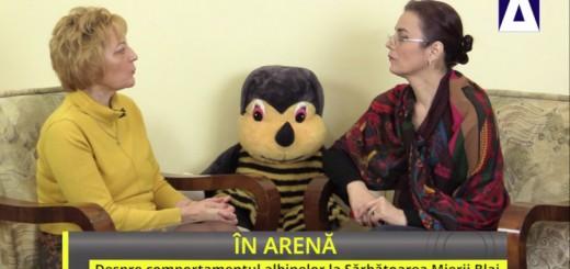 ACC - IA - Despre comportamentul albinelor la Sarbatoarea Mierii Blaj - Apidava - Realizator Cecilia Caragea