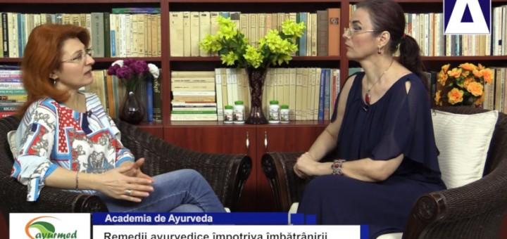 ACC - AA - Remedii ayurvedice impotriva imbatranirii - Ayurmed - Realizator Cecilia Caragea