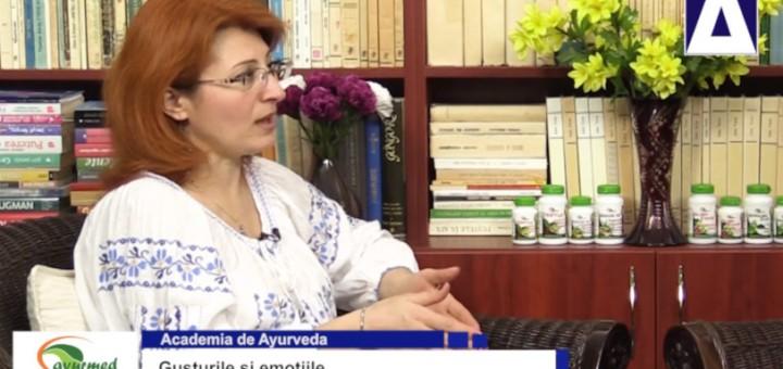 ACC - AA - Gusturile si emotiile - Ayurmed - Realizator Cecilia Caragea