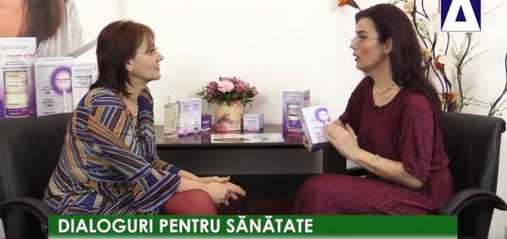 DPS - Cosmeticele cu acid hialuronic - Gerocossen - Realizator Cecilia Caragea
