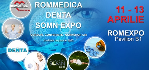 Trei manifestari pentru o sanatate mai buna, Rommedica, Denta I si Somn Expo, la Romexpo
