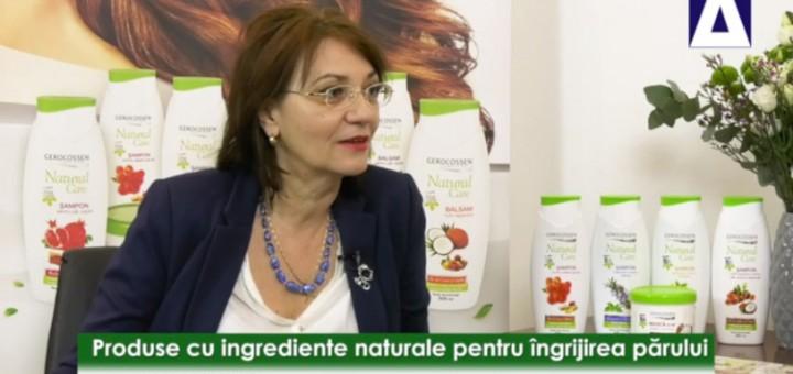 DPS - Produse cu ingrediente naturale pentru ingrijirea parului - Gerocossen - Realizator Cecilia Caragea
