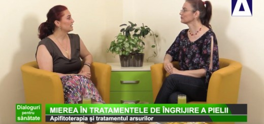 DPS - Mierea in tratamentele de ingrijire a pielii - Apidava - Realizator Cecilia Caragea