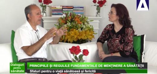 DPS - Principiile si regulile fundamentale de mentinere a sanatatii - Apidava - Realizator Cecilia Caragea