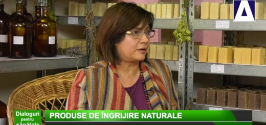 DPS - Produse de ingrijire naturale - Herbaris - Realizator Cecilia Caragea