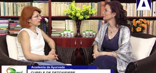 ACC - AA - Curele de detoxifiere - Ayurmed - Realizator Cecilia Caragea