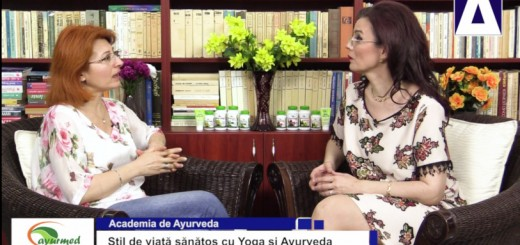 ACC - AA - Stil de viata sanatos cu Yoga si Ayurveda - Ayurmed - Realizator Cecilia Caragea