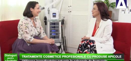 DPS - Tratamente cosmetice profesionale cu produse apicole - Apidava - Realizator Cecilia Caragea