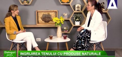 DPS - Ingrijirea tenului cu produse naturale - Apidava - Realizator Cecilia Caragea