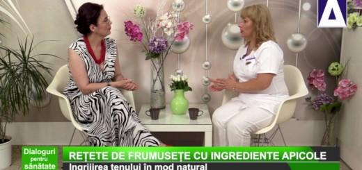 DPS - Ingrijirea tenului in mod natural - Apidava - Realizator Cecilia Caragea