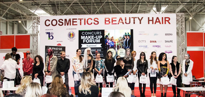 Cosmetics Beauty Hair, la Romexpo