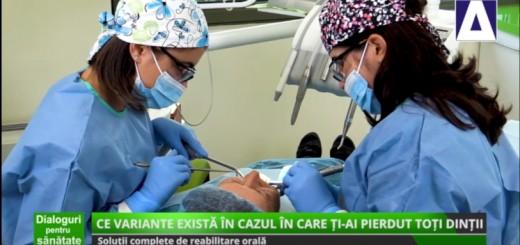 DPS - Solutii complete de reabilitare orala - Dental Excellence - Realizator Cecilia Caragea