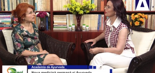 ACC - AA - Noua medicina germana si Ayurveda - Ayurmed - Realizator Cecilia Caragea