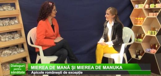 ACC - DPS Medika TV - Ce este mierea de mana (mierea de padure) - Apidava - Realizator Cecilia Caragea