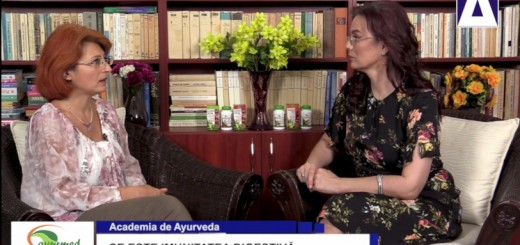 ACC - AA - Imunitatea digestiva - Ayurmed - Realizator Cecilia Caragea