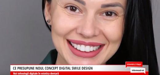 Ce presupune noul concept Digital Smile Design