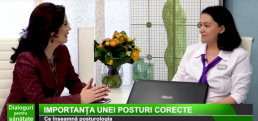 DPS Medika TV - Importanta unei posturi corecte - Clinica Eliade - Arena Communications